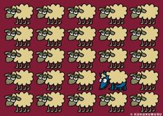 Wolf in sheep's clothing.  Kukuxumusu design
