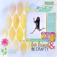 be kind be crafty by Amy Tan - Scrapbook.com