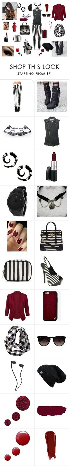 """""""doppler effect"""" by knight-lover ❤ liked on Polyvore featuring Pretty in Boots, Jean-Paul Gaultier, MAC Cosmetics, Diesel, COS, Michael Kors, Marc by Marc Jacobs, Wildflower, Ray-Ban and Topshop"""