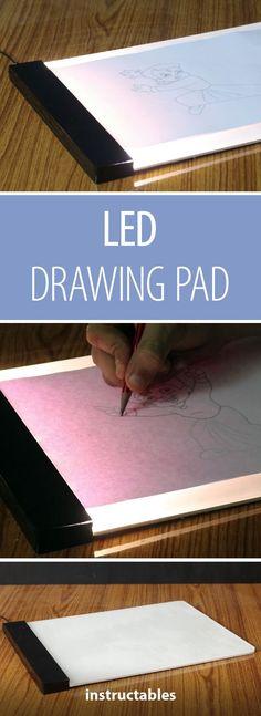 LED Drawing / Tracing Pad