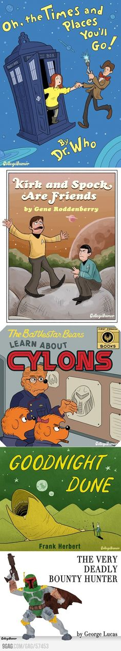 Five Sci-Fi Children's Books. A good mash-up is hard to beat.