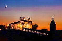 Cascante: basílica del Romero (s. XVII). #Spain #Church #Twilight