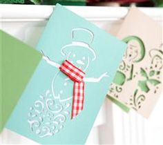 This adorable snowman card is sure to warm a friend's heart!