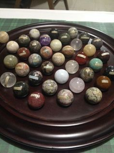 Solitaire Game Board with 36 Semi-Precious stone Marbles Madagascar Vintage | Toys & Hobbies, Games, Board & Traditional Games | eBay!