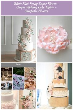 2019 Most Popular Wedding Cakes You Will Love--sage green and white blush wedding cakes with geometric design, diy wedding cakes with cascading flowers, blush, pink, green wedding colors, spring weddings, garden wedding ideas blush wedding cakes Blush Wedding Cakes, Diy Wedding Cake, Wedding Ideas, Green Wedding, Wedding Colors, Cascading Flowers, Spring Weddings, Designer Wedding Dresses, Blush Pink