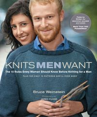 GOTLIB - folkbiblioteken i Göteborg -- Knits men want : the 10 rules every woman should know before knitting for a man : plus, the only 10 patterns she'll ever need / Bruce Weinstein ; photographs by Jared Flood Knit Vest Pattern, Sweater Knitting Patterns, Crochet Pattern, Knit Crochet, Jumper Patterns, Knitting Books, Free Knitting, Knitting Projects, Knitting Ideas