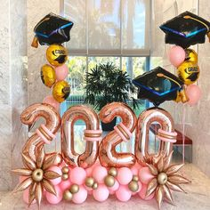 Home Decoration Decor These decorations are sooo cute Decoration Decor These decorations are sooo cute Grad Party Decorations, Graduation Party Decor, Grad Parties, Graduation Gifts, Graduation Balloons, Birthday Balloons, Balloon Bouquet, Balloon Garland, Balloon Arch