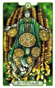 Revelations Tarot Six of Pentacles - Pesquisa do Google