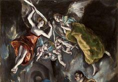 EL GRECO, La Adoración de los pastores (detalle), 1612-1614, Museo del Prado