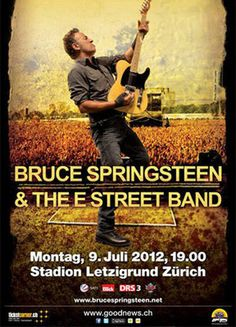 Bruce Springsteen & The E Street Band, Zurich, July 9, 2012