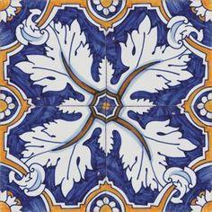 Azulejo tradicionais Portugueses pintados à mão para decoração Portuguese decorative tiles - Estoril