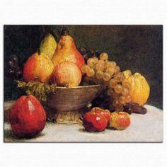 Henri Fantin Latour biyografisi ve eser örnekleri arşivi - istanbul sanat evi Fruit Painting, Oil Painting On Canvas, Canvas Art Prints, Henri Fantin Latour, Still Life Oil Painting, White Peonies, Manet, Oil Painting Reproductions, Vintage Artwork