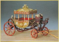 Model Kit Amati - Egyptian Carriage - Royal Carriage