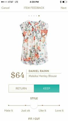 Love it, add a color coordinated cardigan or blazer :) I'm normally not a fan of bold/floral prints but I really like this one...must be the peachy orange color.