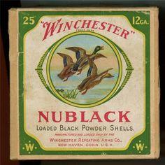 Nublack Winchester 12 gauge Ammo Box COASTER Duck Hunting