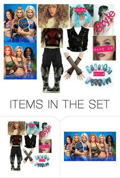 """""""Lisa Lee WM33"""" by dani-loves-wwe-music ❤ liked on Polyvore featuring art"""