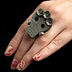 Frida Ring by Studio Lacey at Atomic Cowlick