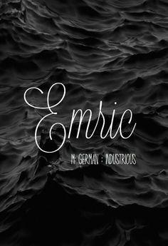 Emric  gorgeous baby boy name! - Boy Girl Names #babyboyname #babygirlname #babynames -  Emric  gorgeous baby boy name!