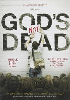 """When atheist philosophy professor (Kevin Sorbo) plans to forego """"dusty arguments"""" in his class, he insists the new students declare that """"God Is Dead."""" Unable to do this, Josh (Shane Harper) is challenged to defend his faith and prove to the class that God is NOT Dead. With everything on the line, Josh's faith is unwavering...and life-changing to those around him."""