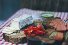 Puzzle Israel's famous Breaded Salmon in Za'atar with Melted Brie and Roasted Peppers Recipe