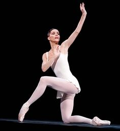 Notes from some famous dancers on the challenges of dance life. (Darcey Bussell in Apollo at Royal Ballet in 2007.)