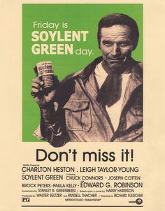 I need an 800 word essay on the movie soylent green please help me out?