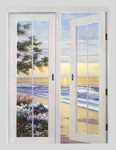 """French Doors"" by Diane Romanello"