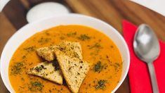 Supa crema de linte rosie - YouTube Thai Red Curry, Ethnic Recipes, Youtube, Food, Diet, Essen, Meals, Youtubers, Yemek