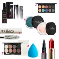 Style Edit: Motives Must-Have Makeup
