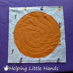 Helping Little Hands: Fast & Easy Quiet Book - maze page