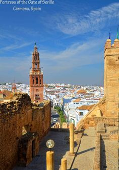 Carmona - Fortress of the Gate of Seville