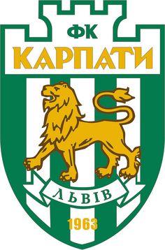 Football Club Karpaty Lviv (Футбольний Клуб Карпати Львів) | Country: Україна / Ukraine. País: Ucrania. | Founded/Fundado: 1963/01/18 | Badge/Crest/Logo/Escudo.