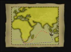 De route van de VOC terug en heen, vraag: waar ging de VOC heen?