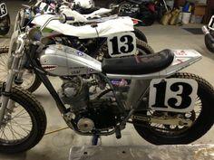 Honda XL 350 Flat Track Motorcycle built by  Barracuda Racing