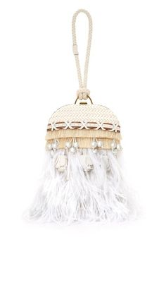 b39e0693af1e Embellished Feather Dome Clutch. Tory BurchFeatherEmbellishmentsOrnaments QuillFeathers