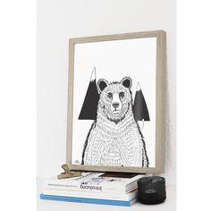 """A bear"" Poster"