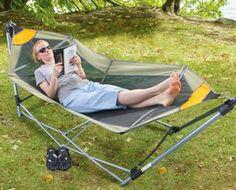 Guide Gear Portable Folding Hammock w/ Steel Frame Only $39.99 PLUS FREE Shipping!