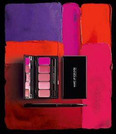 Make Up For Ever Rouge Artist Lip Palette 2013