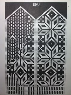 Схема варежек Knit Mittens, Knitting Socks, Mitten Gloves, Hand Knitting, Knitted Hats, Fair Isle Knitting Patterns, Fair Isle Pattern, Knitting Stitches, Knitting Needles