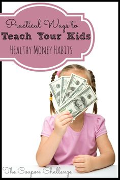 Use you're experiences and mistakes with budgeting to teach your kids healthy money habits.  Read on for practical ways to teach kids healthy money habits.