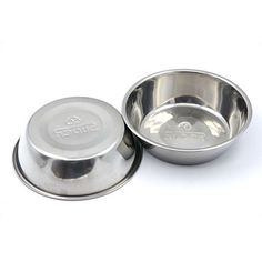 SUPER DESIGN Stainless Steel Pet Bowl Package for Dogs and Cats, 1 Pack of 2 , S *** Find out @