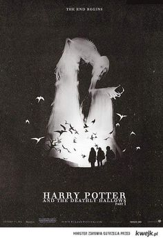 Deadly hallows - love the graphic!