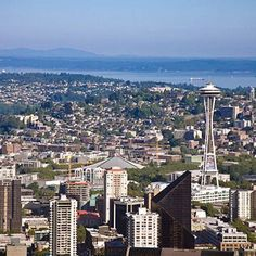 Seattle downtown and skyline