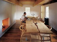 rustic dining table - Google Search