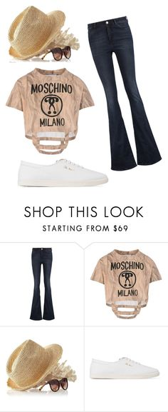 """jeans"" by mariella-montanaro on Polyvore featuring M.i.h Jeans, Moschino, Mark & Graham and The Row"