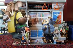 Zootopia Anime Movie Wall Print POSTER Decor #PopArt