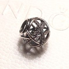 AUTHENTIC PANDORA GALAXY BEAD AUTHENTIC PANDORA. New never used in flawless condition. 925 silver with clear cubic zirconia. NO TRADING!! Firm price. Additional discount offered on bundle purchases of $100 or more. Thanks for stopping by my closet  Pandora Jewelry Bracelets