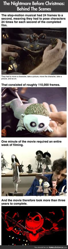 Facts you didn't know about The Nightmare Before Christmas
