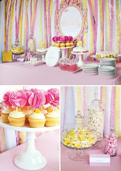 Just Shoot Me Photography's first blog I was featured on Hostess with the mostess!!!  Pink  Yellow Twin Girls Baby Shower