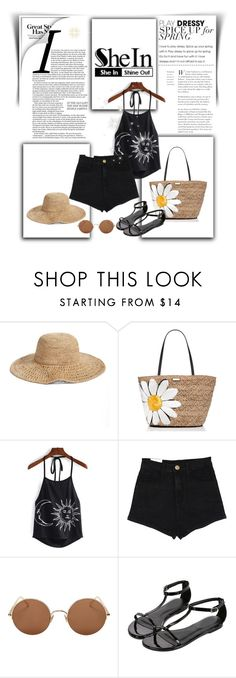 """SheIn 8/III"" by nermina-okanovic ❤ liked on Polyvore featuring Nordstrom, Kate Spade, Sunday Somewhere and shein"